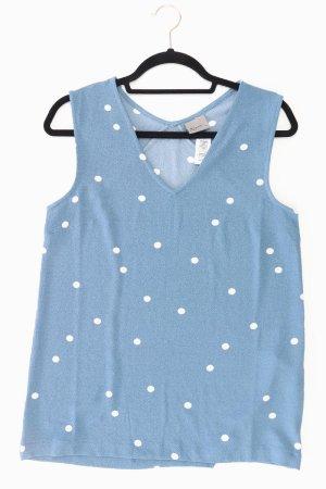 Vero Moda Ärmellose Bluse Größe M neuwertig blau aus Polyester