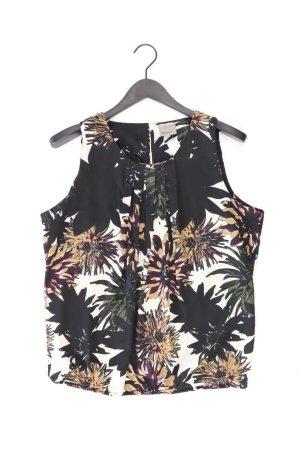 Vero Moda Ärmellose Bluse Größe XL mit Blumenmuster schwarz aus Polyester