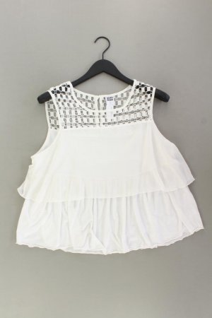 Vero Moda Ärmellose Bluse Größe XL weiß aus Polyester