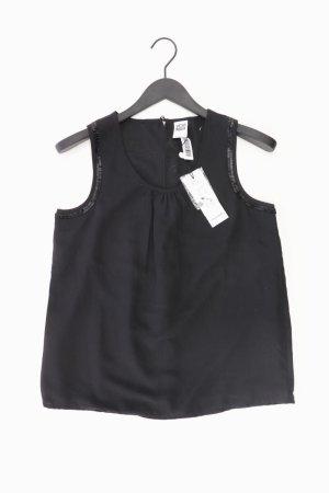 Vero Moda Ärmellose Bluse Größe XS neu mit Etikett mit Pailletten schwarz aus Polyester