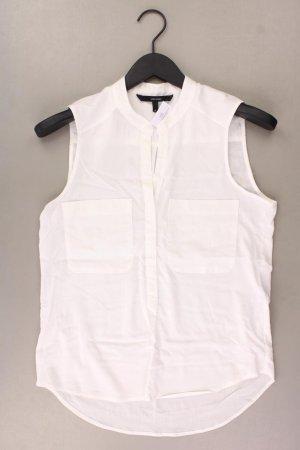 Vero Moda Ärmellose Bluse Größe XS weiß aus Viskose