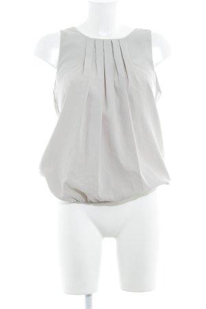 Vero Moda ärmellose Bluse hellgrau Casual-Look