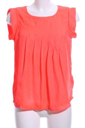 Vero Moda ärmellose Bluse rot Casual-Look
