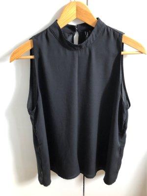 Vero Moda Bluzka ze stójką czarny