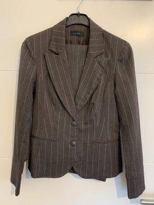 Vero Moda Anzug braun mit Streifen