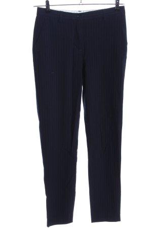 Vero Moda Anzughose blau Allover-Druck Business-Look