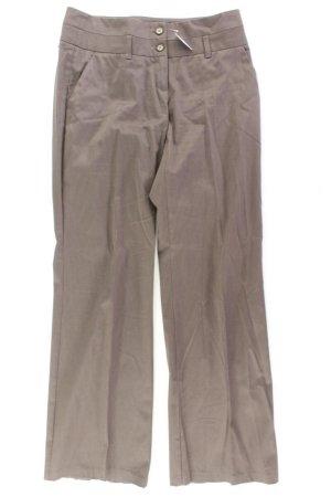 Vero Moda Anzughose Größe 38 gestreift braun aus Baumwolle