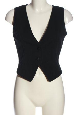 Vero Moda Kamizelka garniturowa czarny W stylu biznesowym
