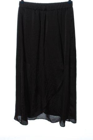 Vero Moda Asymetryczna spódniczka czarny W stylu casual