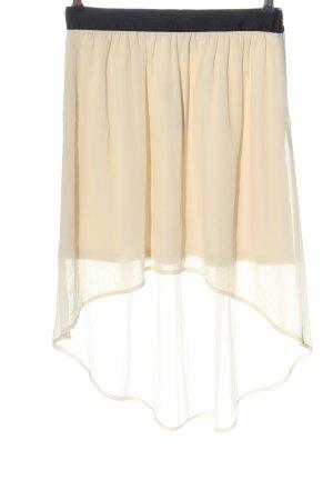 Vero Moda Asymetryczna spódniczka kremowy W stylu casual