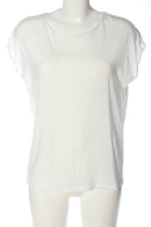 Vero Moda Aware Kurzarm-Bluse weiß Casual-Look