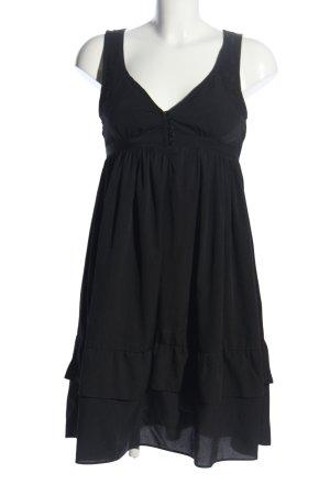 Vero Moda Babydollkleid schwarz Elegant