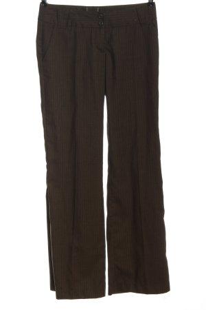 Vero Moda Luźne spodnie brązowy Na całej powierzchni W stylu casual