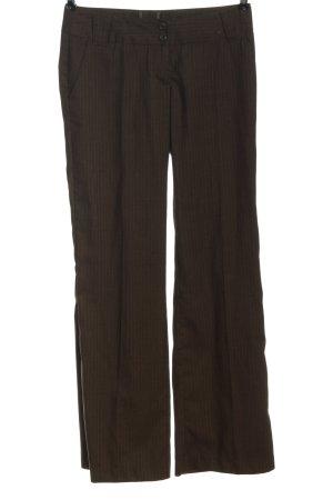 Vero Moda Baggy Pants braun Allover-Druck Casual-Look