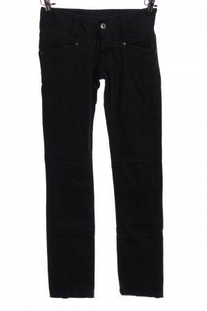 Vero Moda Straight-Leg Jeans schwarz Casual-Look