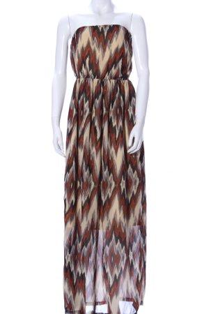 Vero Moda Bandeau Dress allover print casual look