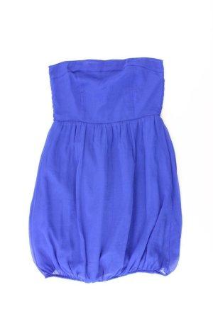 Vero Moda Bandeaujurk blauw-neon blauw-donkerblauw-azuur Polyester