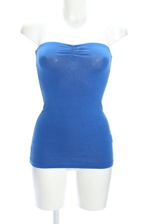 Vero Moda Bandeau top blauw casual uitstraling