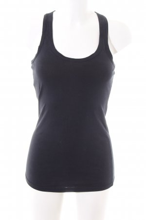 Vero Moda Basic Top schwarz Casual-Look