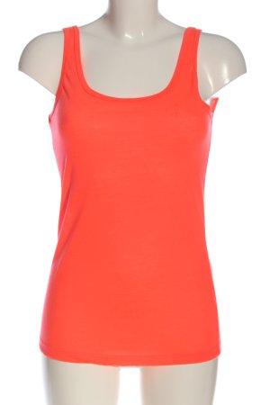 Vero Moda Basic topje rood simpele stijl