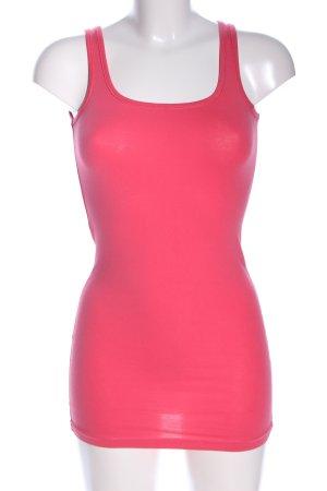 Vero Moda Basic topje roze casual uitstraling