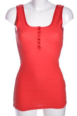 Vero Moda Basic topje rood casual uitstraling