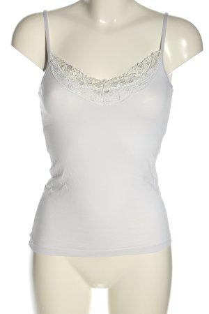 Vero Moda Top basic bianco stile casual