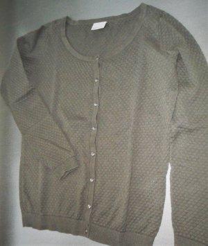 Vero Moda Baumwoll-Jäckchen, Gr. M, olivgrün, einmal getragen