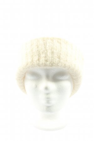 Vero Moda Beanie natural white cable stitch casual look