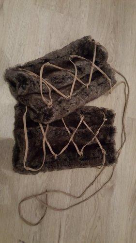 VERO MODA Beinstulpen mit Lederband