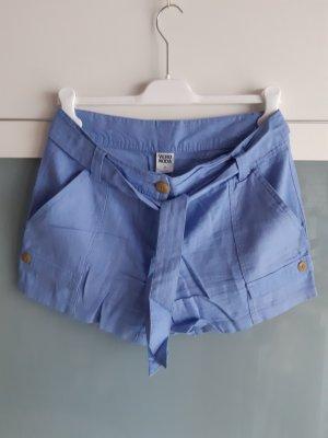 Vero Moda Bermudas azure linen