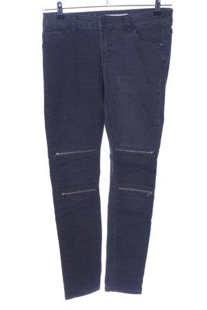 Vero Moda Bikerjeans blau Casual-Look