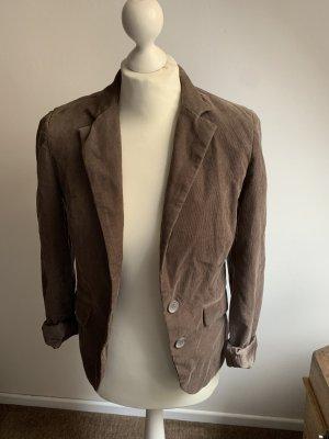 Vero Moda Boyfriend blazer grijs-bruin
