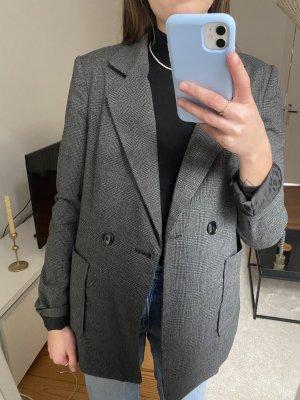 Vero Moda Blazer grau schwarz kariert Gr.M
