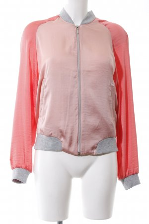 Vero Moda Blouson pink-hellgrau Casual-Look