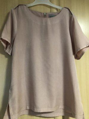 Vero Moda Połyskująca bluzka nude