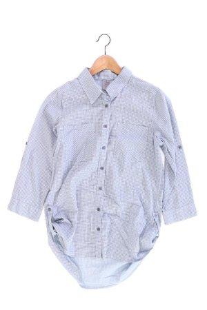 Vero Moda Bluse Größe M 3/4 Ärmel blau aus Baumwolle