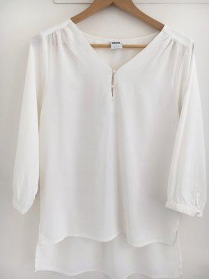 Vero Moda Blusa de manga larga blanco Poliéster