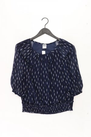 Vero Moda Bluse Größe S 3/4 Ärmel blau aus Polyester