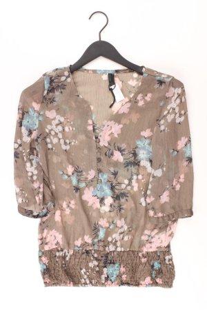 Vero Moda Bluse Größe S 3/4 Ärmel braun aus Polyester