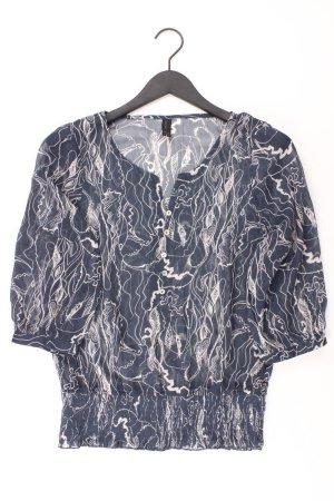 Vero Moda Bluse Größe Small 3/4 Ärmel blau