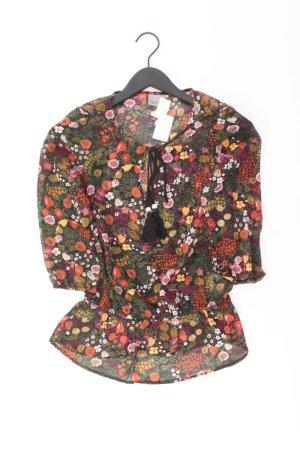 Vero Moda Bluse Größe XS 3/4 Ärmel mehrfarbig aus Polyester