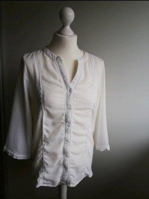 Vero Moda Bluse in weiß, Größe 36, tadelloser Zustand