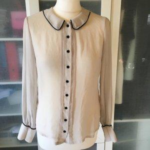 Vero Moda Bluse mit Bubikragen Gr. 38
