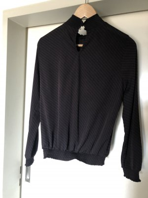 Vero Moda Bluse schwarz Lila