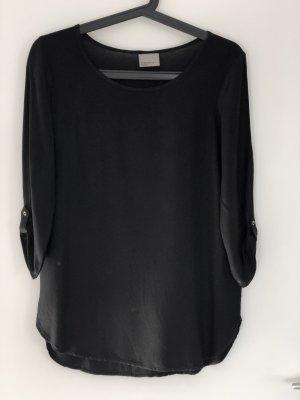 Vero Moda Bluse Shirt dreiviertel schwarz casual