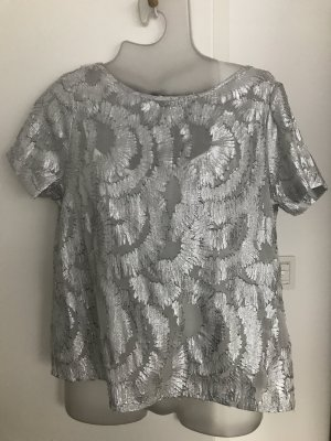 Vero Moda Bluse / Shirt in Silber Gr.38