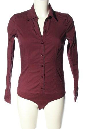 Vero Moda Bodysuit Blouse lilac business style