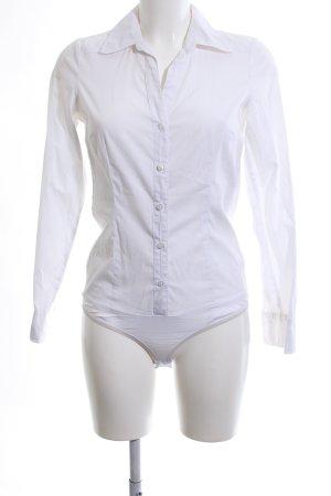 Vero Moda Bodyblouse wit zakelijke stijl