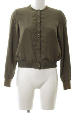 Vero Moda Blusenjacke khaki Casual-Look